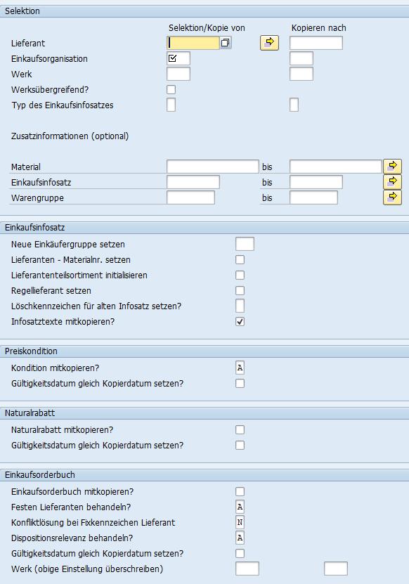 Master Data der Beschaffung für Ersatzteile nutzen