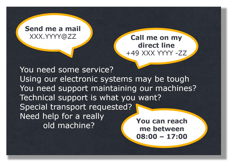 Kundennähe durch persönlichen Kundendienst im Ersatzteilgeschäft schafft Kundenbindung