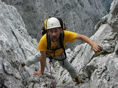 Andreas Noll klettert im Wilden Kaiser