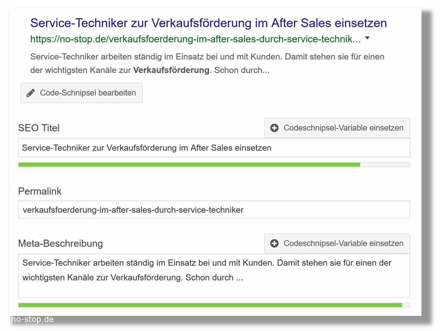 Suchmaschinen-Optimierung im B2B: was soll Google als Suchergebnis anzeigen