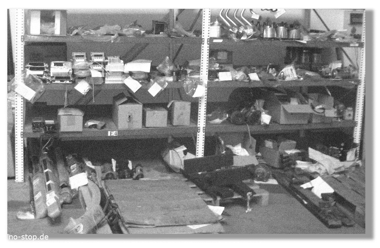 Ersatzteillager bei End of Service räumen