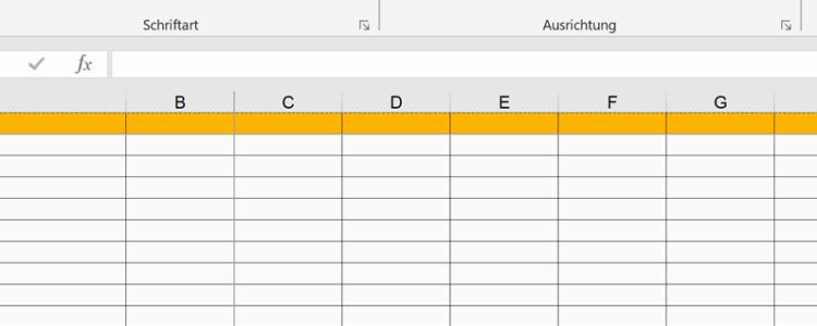 Wie viel Excel verträgt Ihr Ersatzteilwesen?