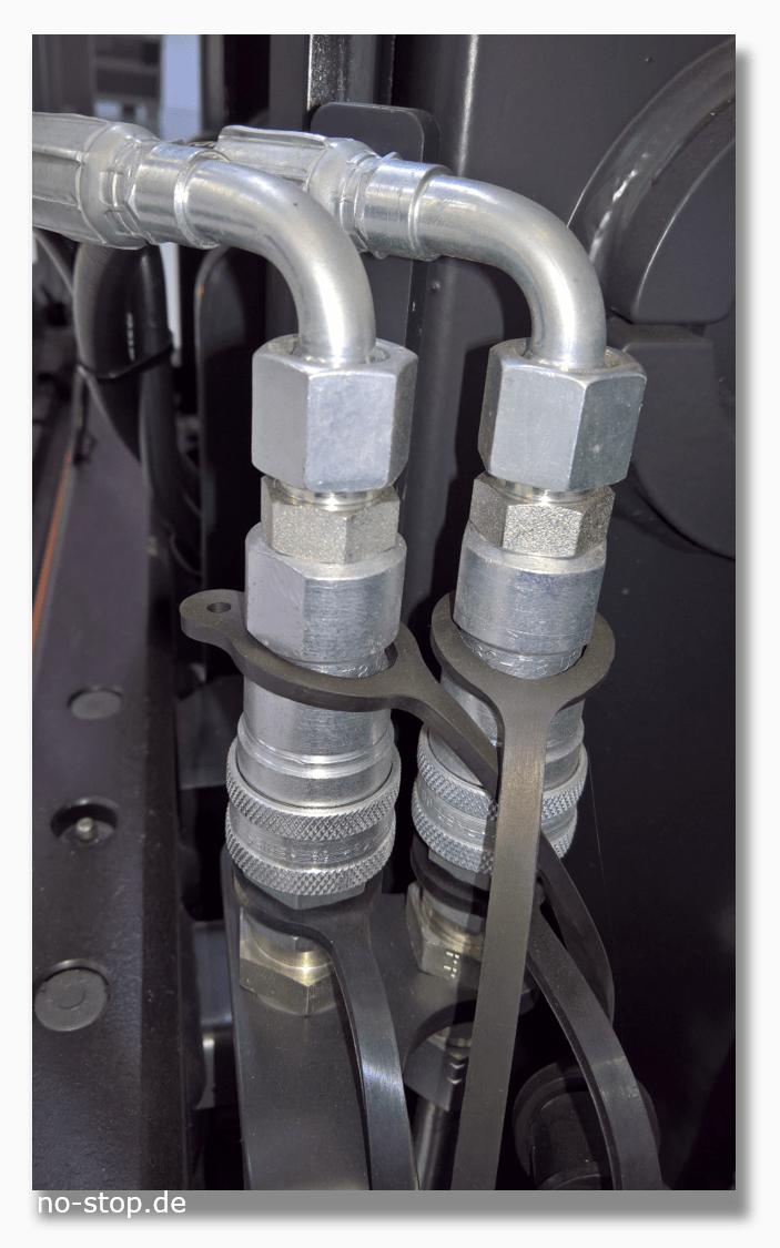 Hydraulikverschlauchung als Verschleissteil