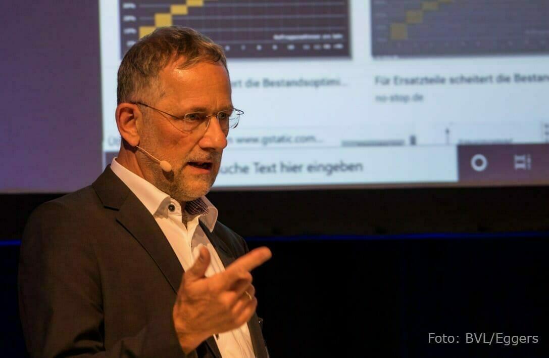 Andreas Noll auf dem BVL-Forum Ersatzteillogistik 2020