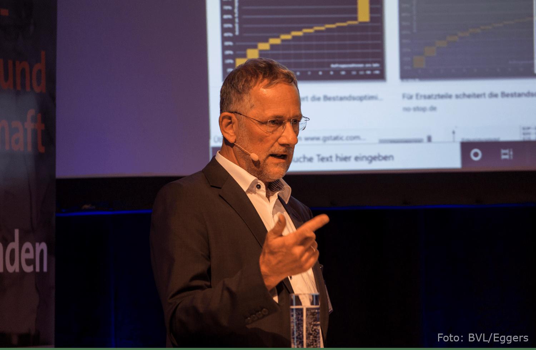 Andreas Noll auf dem BVL Forum Ersatzteillogistik