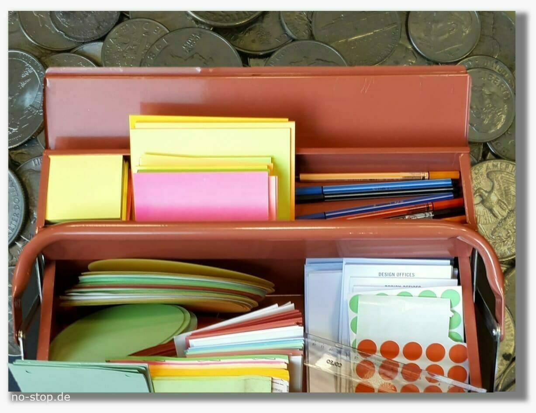 Werkzeugkasten Ersatzteil-Preise Workshop