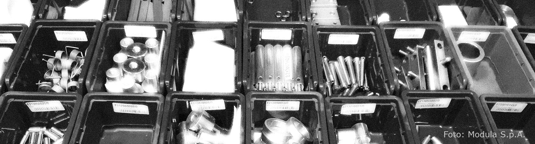 Kleinteilelager für Ersatzteile systematisch auslegen