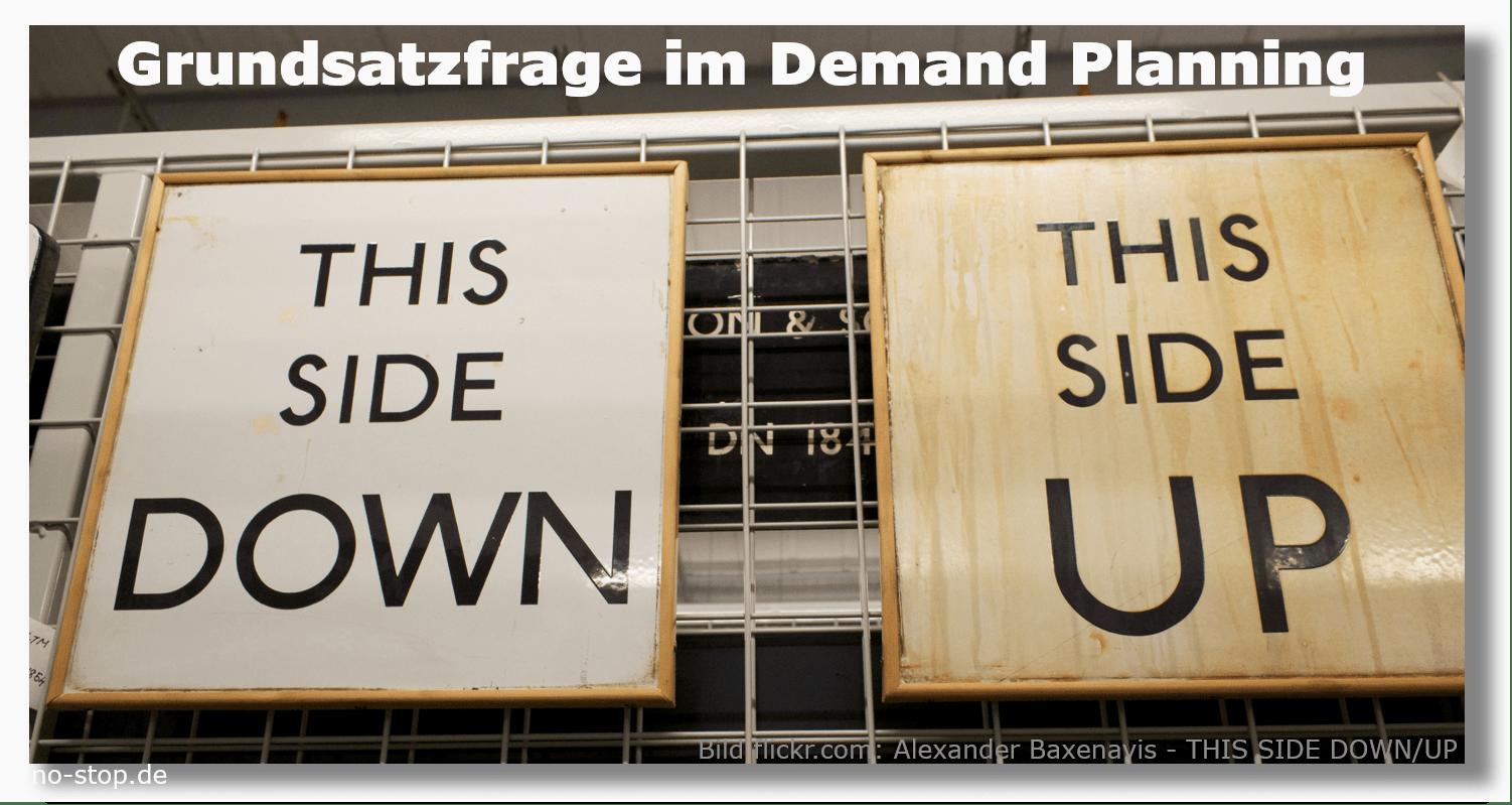Up and Down im Demand Planning von Ersatzteilen